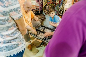 Grand Bazaar backgammon game