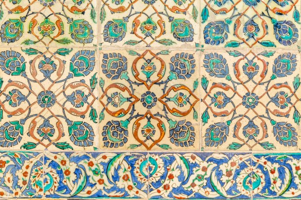 The tiles of Topkapi Palace