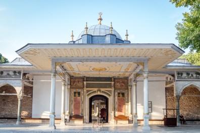 Entrance to Topkapi Palace Royal Chambers