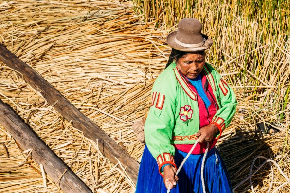 Uros Floating Reed Islands - Peru -16- July 2015