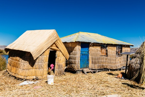 Uros Floating Reed Islands - Peru -27- July 2015