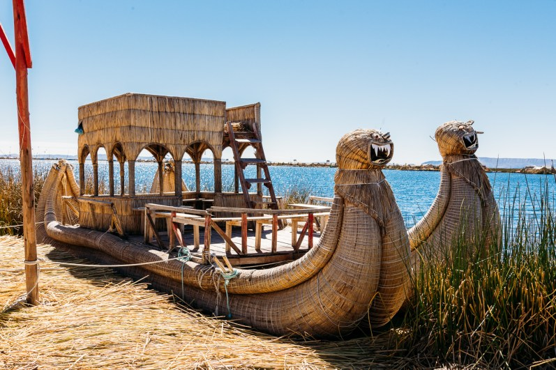 Uros Floating Reed Islands - Peru -28- July 2015