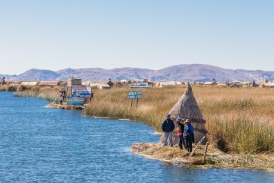 Uros Floating Reed Islands - Peru -6- July 2015