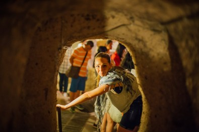 Kaymakali Underground City in Cappadocia