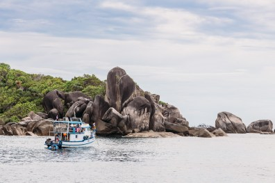 The bouldery islands of Similan Islands National Park