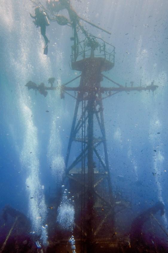 Diving Koh Kood - HTMS Chang Shipwreck -64