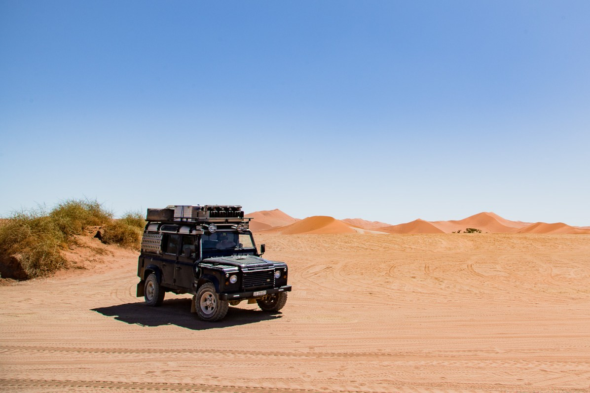 We loved the freedom of our Namibia self drive safari over an organized tour
