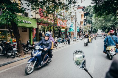 Hanoi Food Tour by Motorbike -36
