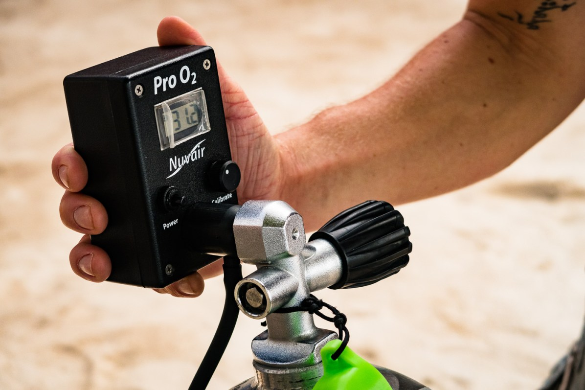 Nitrox diving Advanced Open Water Bohol