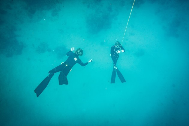Palawan Divers freediving in the Philippines