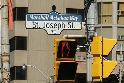 Marshall McLuhan Way