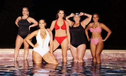 Celebrity Style  Ashley Graham and Brooke Shields Star in Swimsuits for All Power Suit Campaign