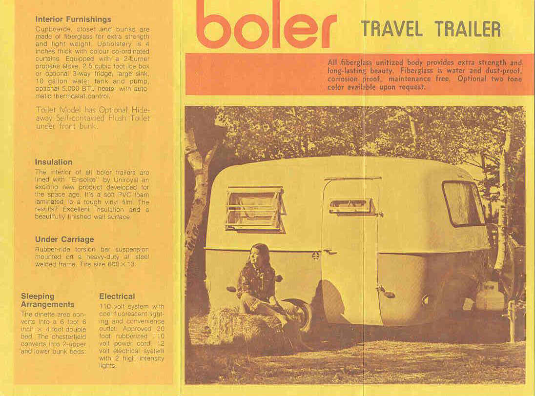 History Of The Boler Camping Rv Plumbing Diagram Have A 1987 17 Bigfoot Travel Trailer