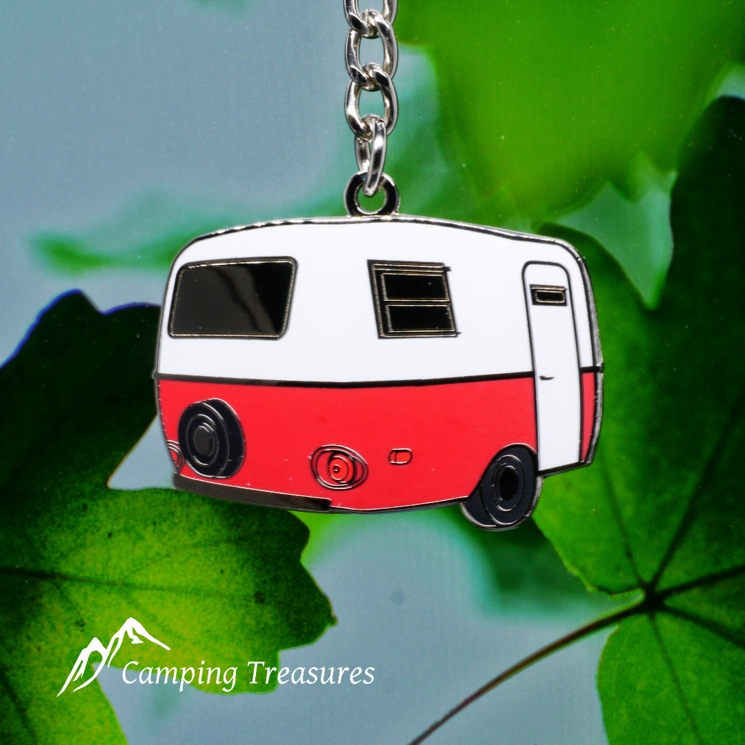 Red Boler Scamp Trailer Key Chain, Keychain