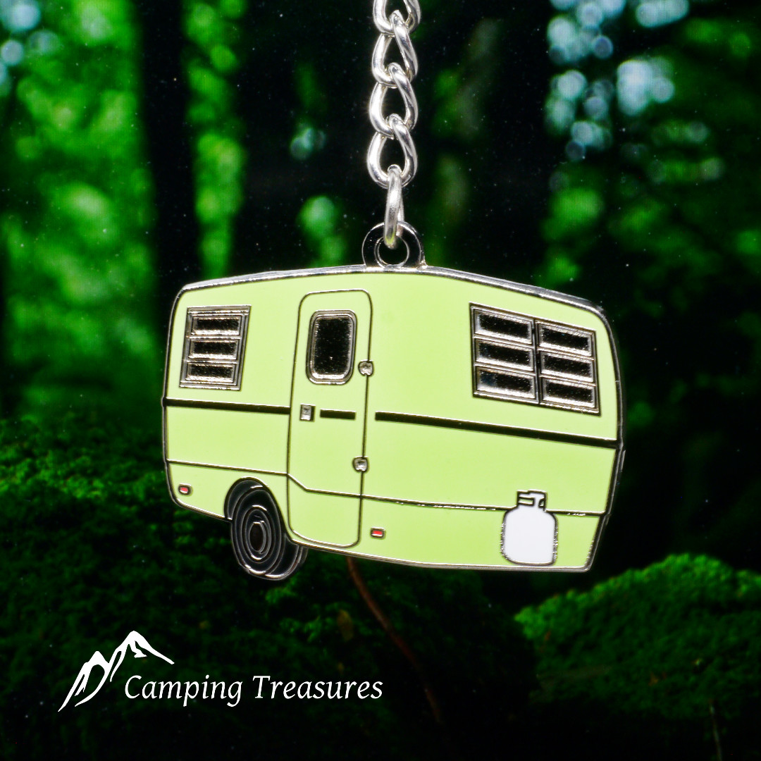 Green Trillium Trailer Key Chain, Keychain