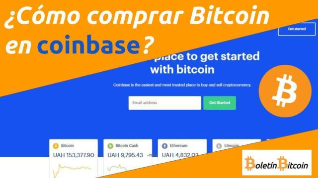 Cómo comprar bitcoin en Coinbase