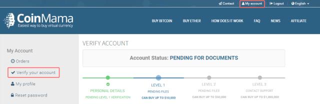 comprar bitcoins con tarjeta de crédito en coinmama