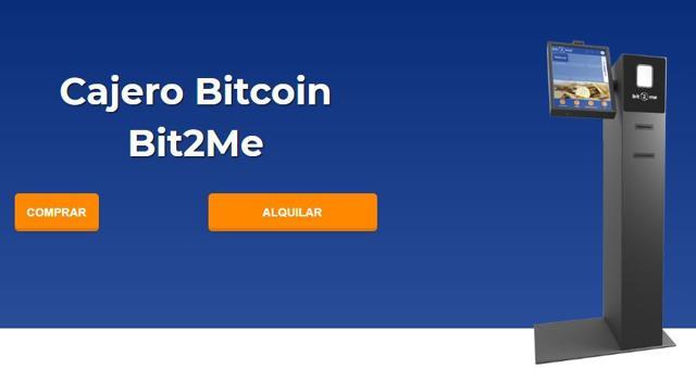 cajeros bitcoin bit2me para comprar y alquilar