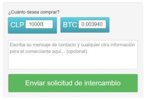 enviar solicitud de intercambio en localbitcoins nicaragua