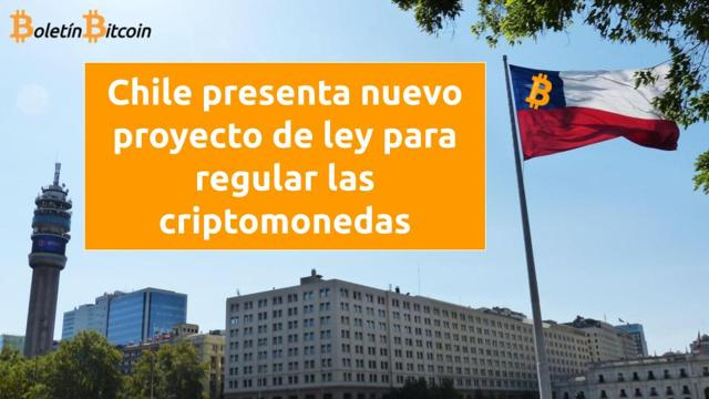 Chile presenta nuevo proyecto de ley para regular las criptomonedas