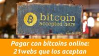 Pagar con bitcoins online