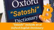 """""""Satoshi"""" incluido en el Oxford English Dictionary"""