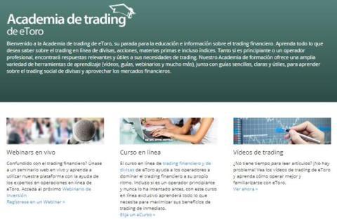 academia de trading etoro