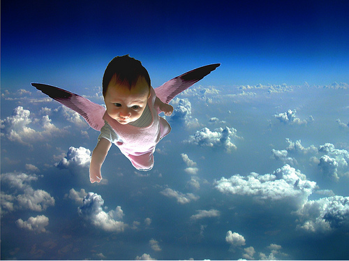 Bolgernowcom  Blog Archive  Baby In The Sky Without
