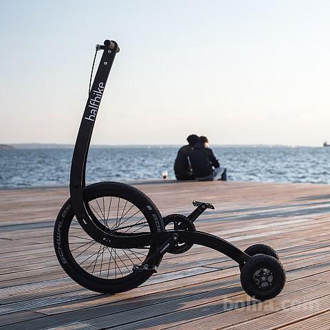 Svetovna novost: HALFBIKE II - www.halfbikes.com