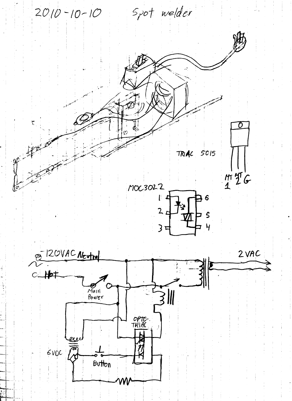 hight resolution of internals schematic