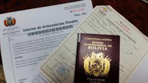 Pasaporte boliviano