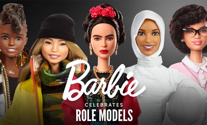 BARBIE MORE ROLE MODELS 19 BAMBOLE DI DONNE FAMOSE