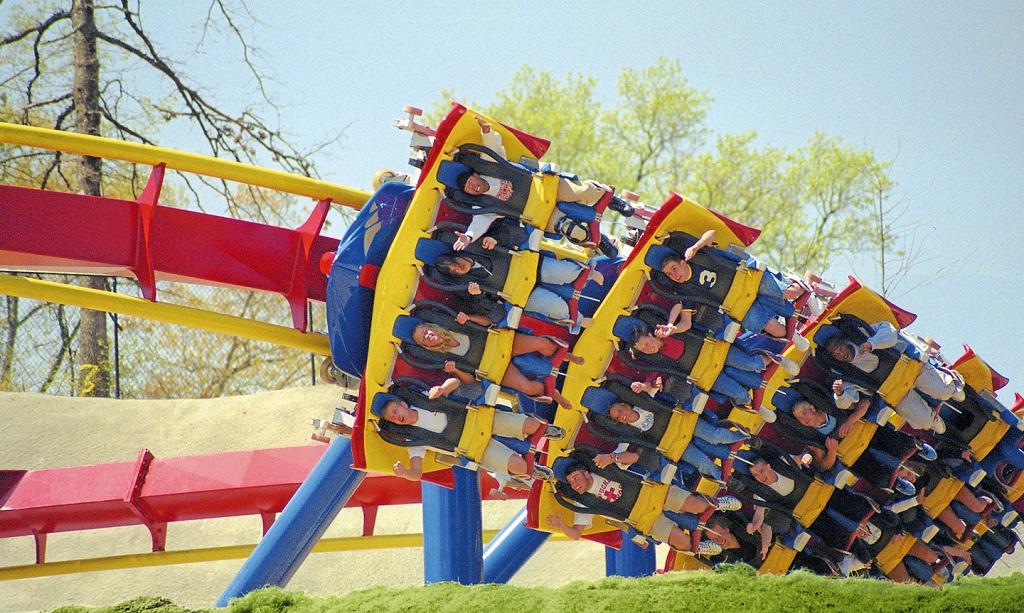 Flying Coaster  Bolliger  Mabillard