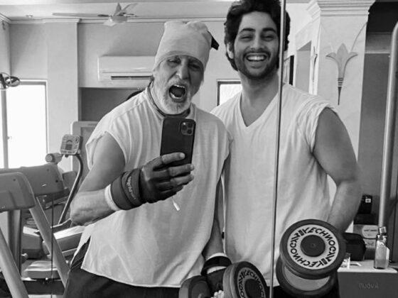 Bollywood producent Karan Johar heeft plannen voor het debuut van kleinzoon Amitabh Bachchan