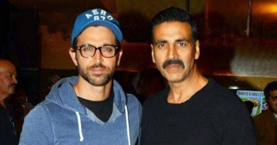 Bollywood acteurs Akshay Kumar en Hrithik Roshan samen in een film?