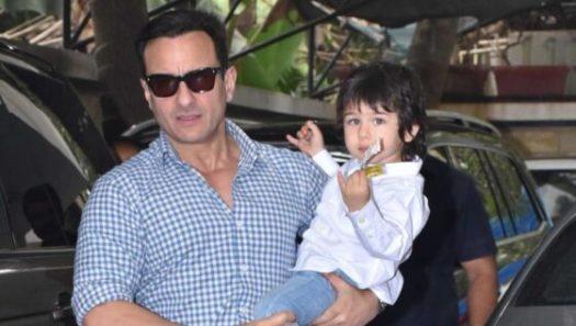 """Bollywood acteur Saif Ali Khan: """"Taimur houdt niet van de aandacht van de paparazzi"""""""