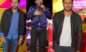 Ritesh Deshmukh, Ayushman Khurana, Shaan, Sudesh Lehri, Mulund Festival