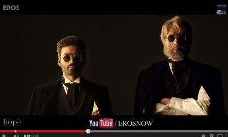 Amitabh Bachchan, Shamitabh, official trailer, Youtube, released