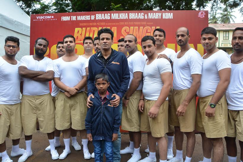 Manoj Bajpayee launches upcoming movie Budhia Singh Born To Run anthem | See pictures