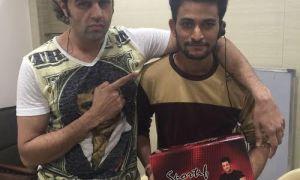 Manish Paul, gifts, shoes, crew, Jhalak Dikhhla Jaa 9