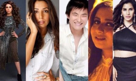 Akriti Kakkar, Shalmali Kholgade, Jonita Gandhi, Pawni Pandey, Meiyang Chang, Jasleen Royal, Monica Dogra, Tulsi Kumar, Tanvi Shah, Sophie Chaudhary,
