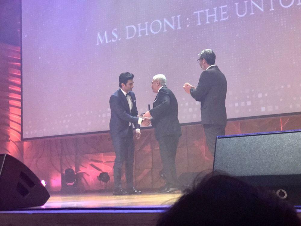 Sushant Singh Rajput, Best Actor, Indian Film Festival of Melbourne