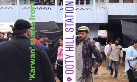Irrfan Khan, first look, Karwan revealed