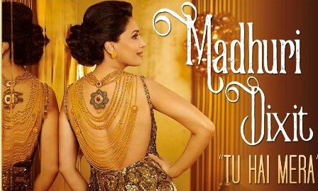 Madhuri Dixit, International Music Debut