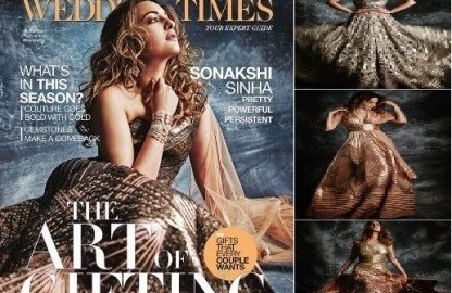 Checkout, Sonakshi Sinha, shoot, Femina Wedding Times