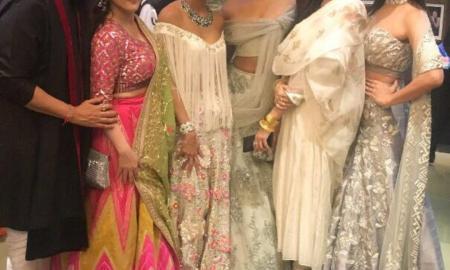 Prernaa Arora, producer, Shilpa Shetty, diwali party