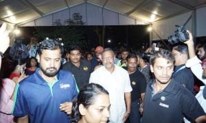Nana Patekar, Manoj Joshi, Bioscope Village, IFFI Goa 2017