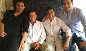 Salim Khan,Salman Khan,Tiger Zinda Hai