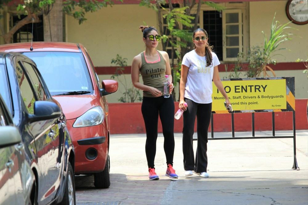 Kareena Kapoor, Kunal, Gym