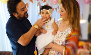 Adnan Sami, daughter, Medina, birthday